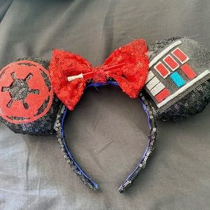 Darth Vader Minnie Mouse Ears